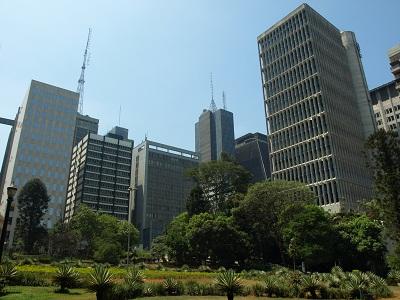 Sao Paulo Park next to Paulista Avenue